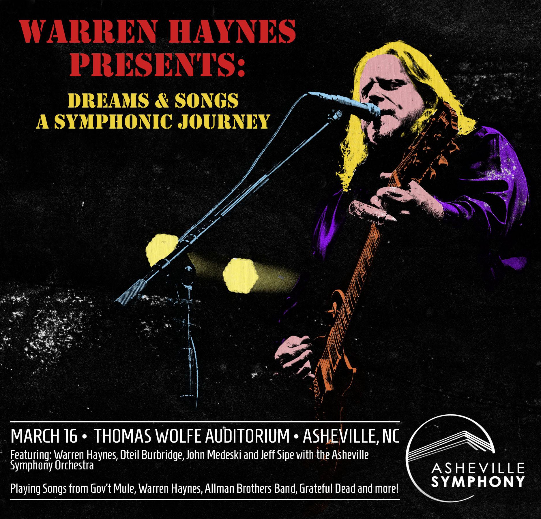 Warren Haynes Presents: Dreams & Songs - A Symphonic Journey