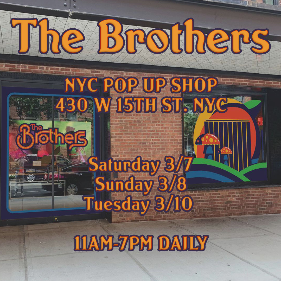 The Brothers NYC Pop Up Shop