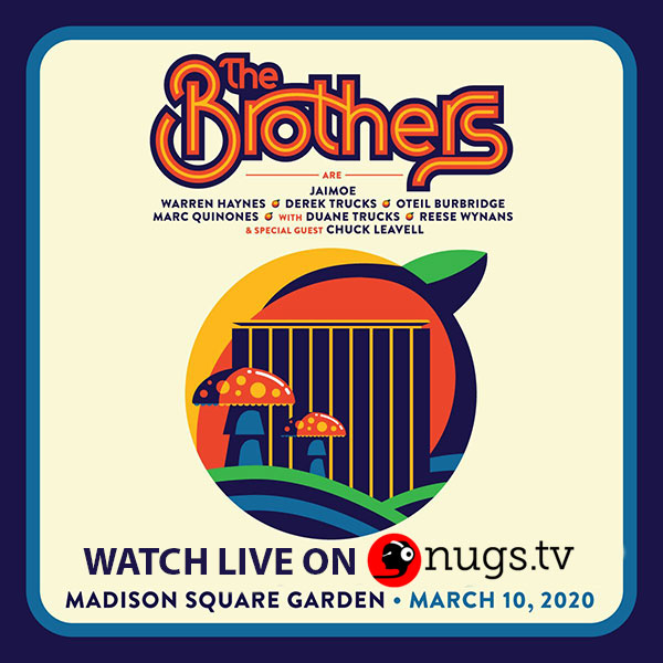 The Brothers Webcast Madison Square Garden