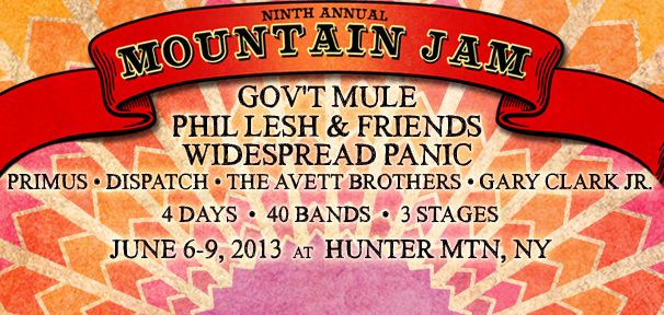 MOUNTAIN JAM NINE - ON SALE NOW