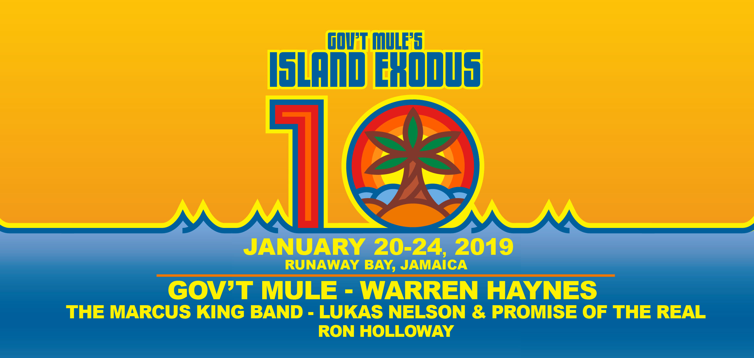Gov't Mule Announce Island Exodus 10
