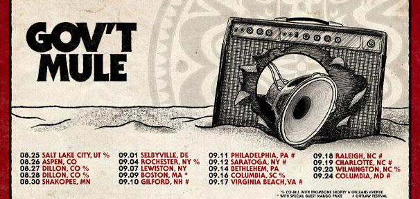 Gov't Mule 2021 Summer/Fall Tour