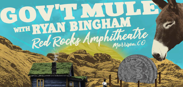 The Mule Return to Red Rocks August 18