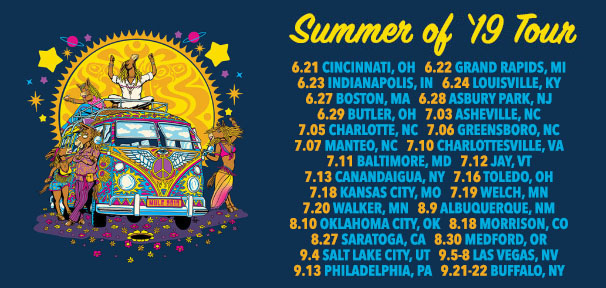 Summer of '19 Tour On Sale Now