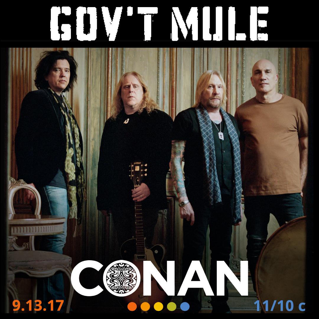 Gov't Mule - Conan O'Brien