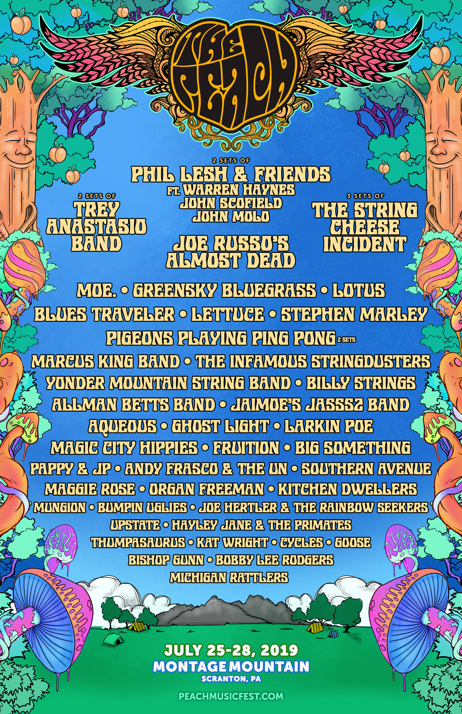 The Peach Music Festival 2019