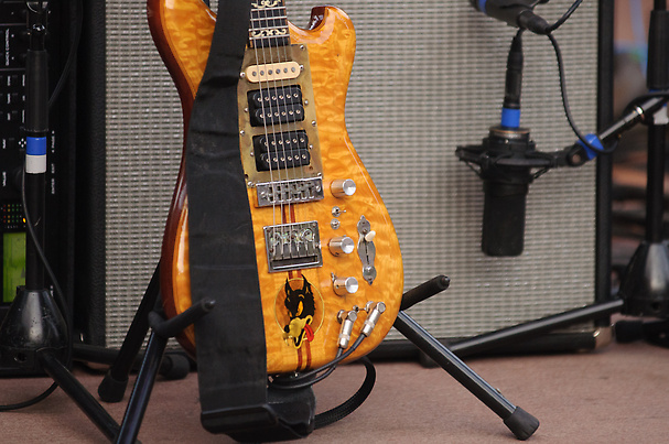 Jerry Garcia's Guitar, Wolf, at Red Rocks Amphitheatre