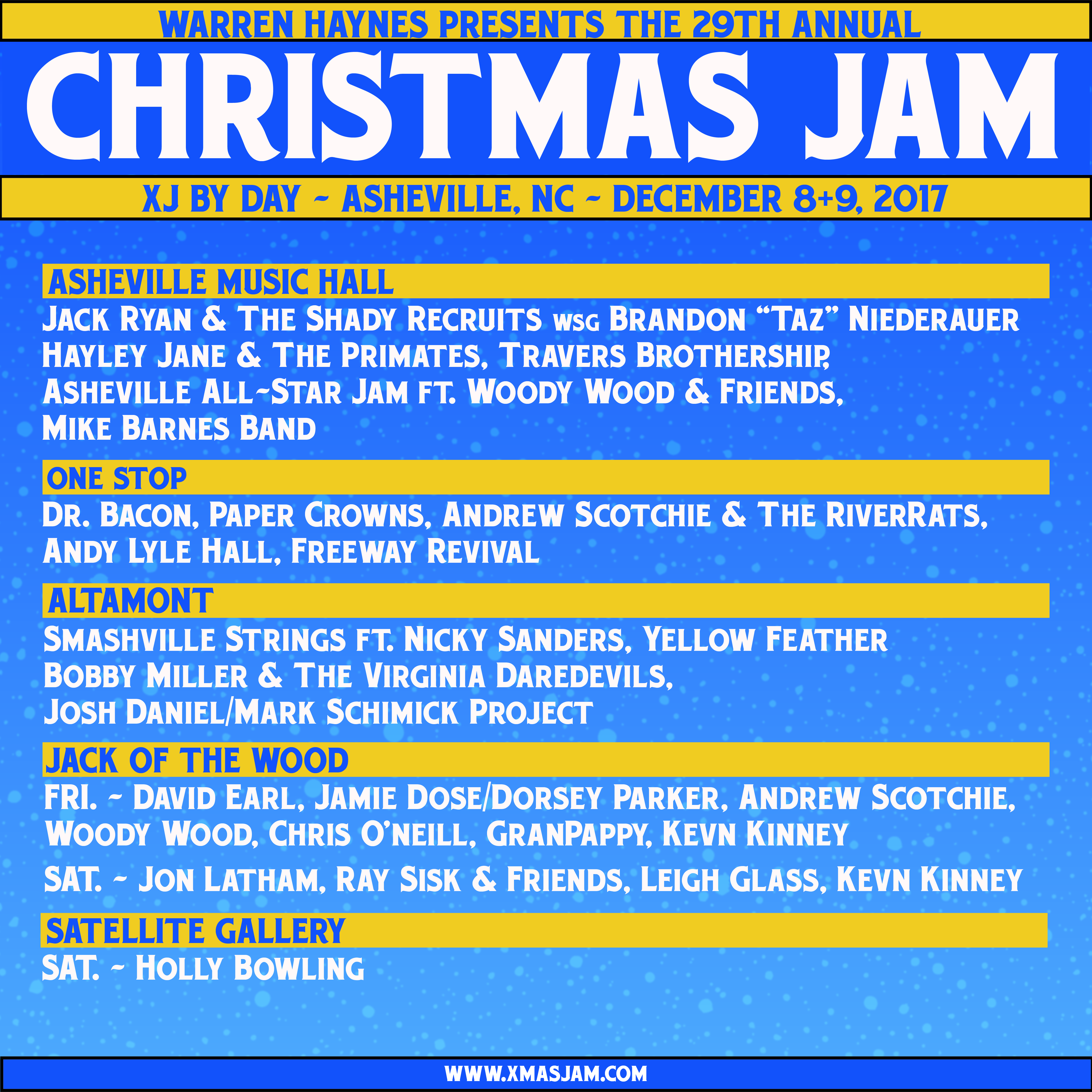 Christmas Jam by Day 2017