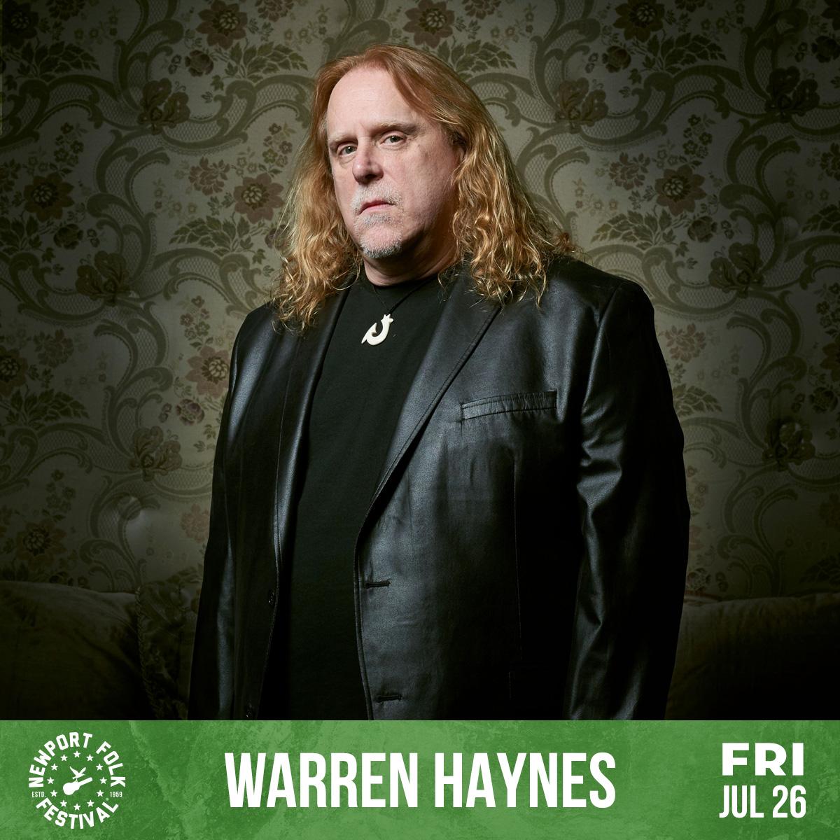 Warren Haynes Newport Folk Fest